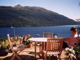 View of the Loch at Breakfast